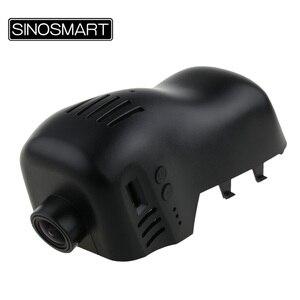 Image 2 - SINOSMART Novatek 96672 Car Wifi DVRกล้องสำหรับVolkswagen Touareg 2011 2014 2016ควบคุมโดยAppโทรศัพท์มือถือSONY IMX323