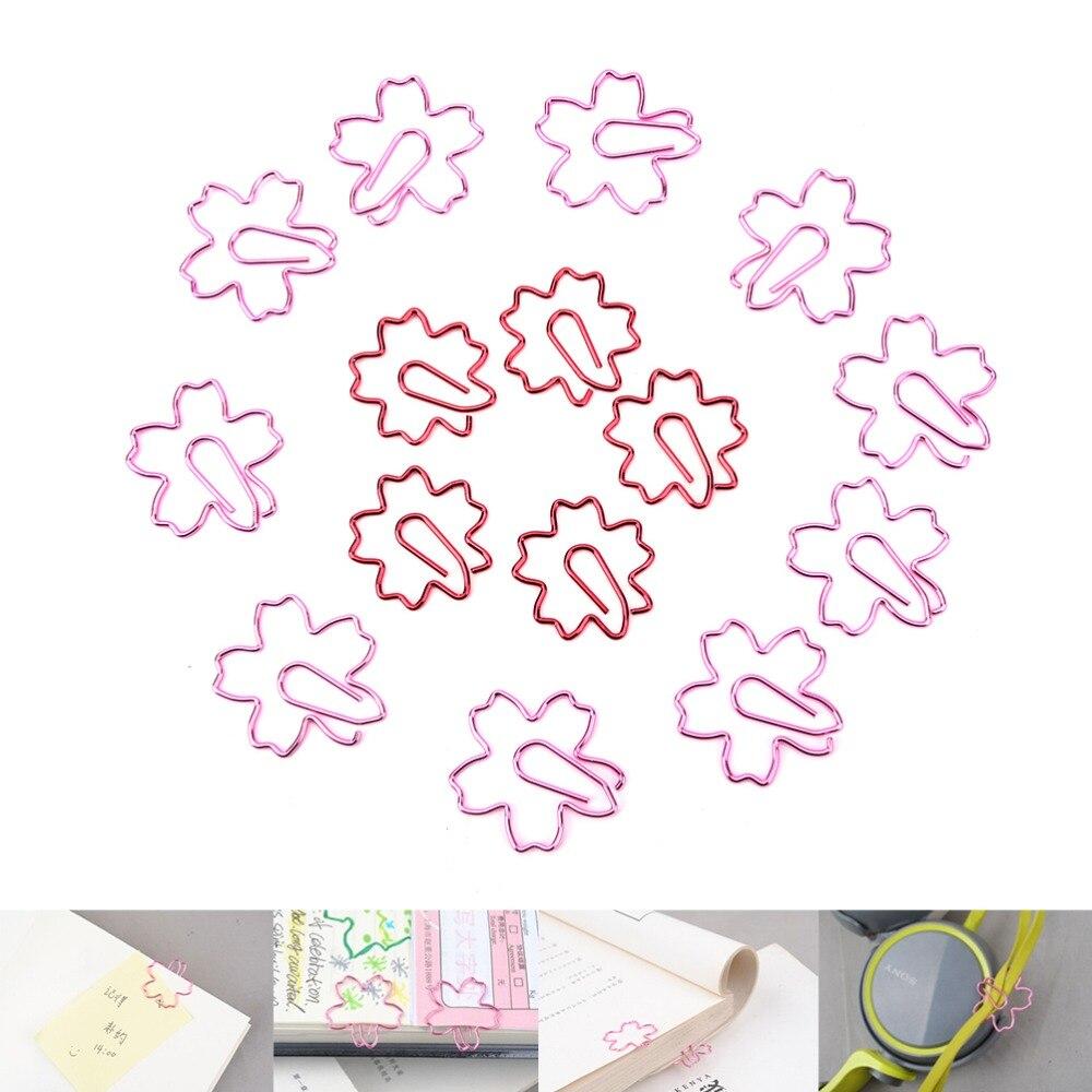 Clip Halter & Clip Dispenser Office & School Supplies Paperclips 24 Stück In Pvc Fall Nette Stern Form