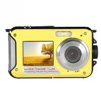 1080P Waterproof Outdoor Selfie Digital Camera Double Screen Waterproof Full HD Underwater