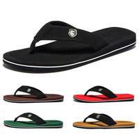 3/Pairs Summer Men Flip Flops Top EVA Beach Sandals Shoes Man Non slip Male Slippers Comfortable Men Casual Shoes Big Size 50