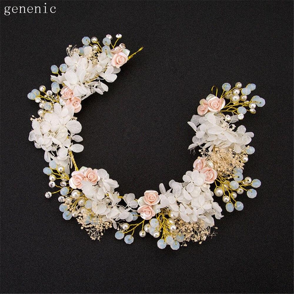 Handmade font b Luxury b font Prom font b Wedding b font Hair font b Jewelry