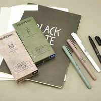 Climemo гелевая ручка, нейтральная ручка, 0,35 мм черная ручка для подписи, углеродная ручка, черная ручка, канцелярские принадлежности оптом мил...