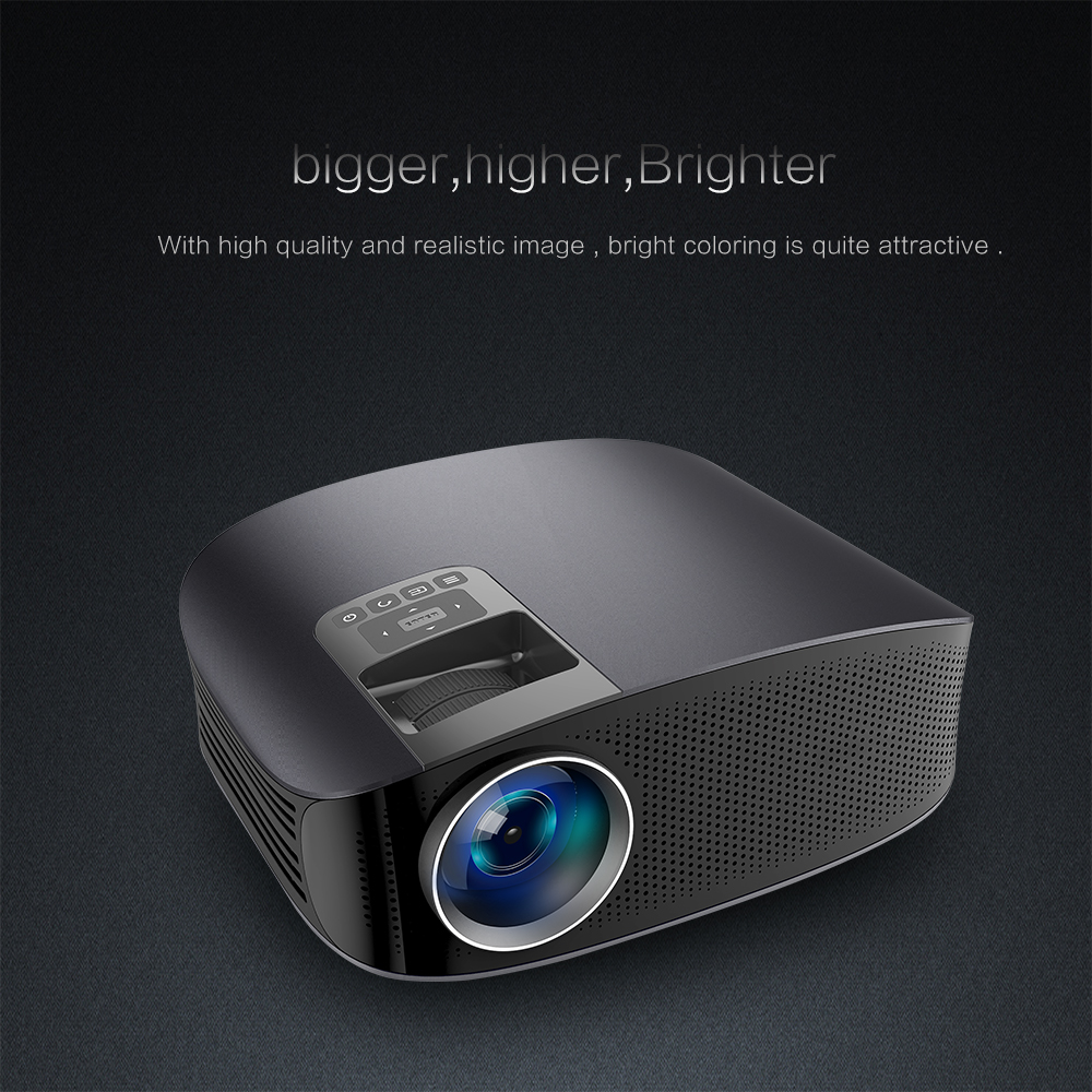Ideal for home entertainment in dark and offer more clear pictures than  other projector, excellent experience for your family from the visual  enjoyment