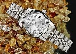 38mm SANGDO automatyczny ruch własny wiatr mężczyźni wysokiej jakości zegarki luksusowe mechaniczne zegarki na rękę męski zegarek 8s