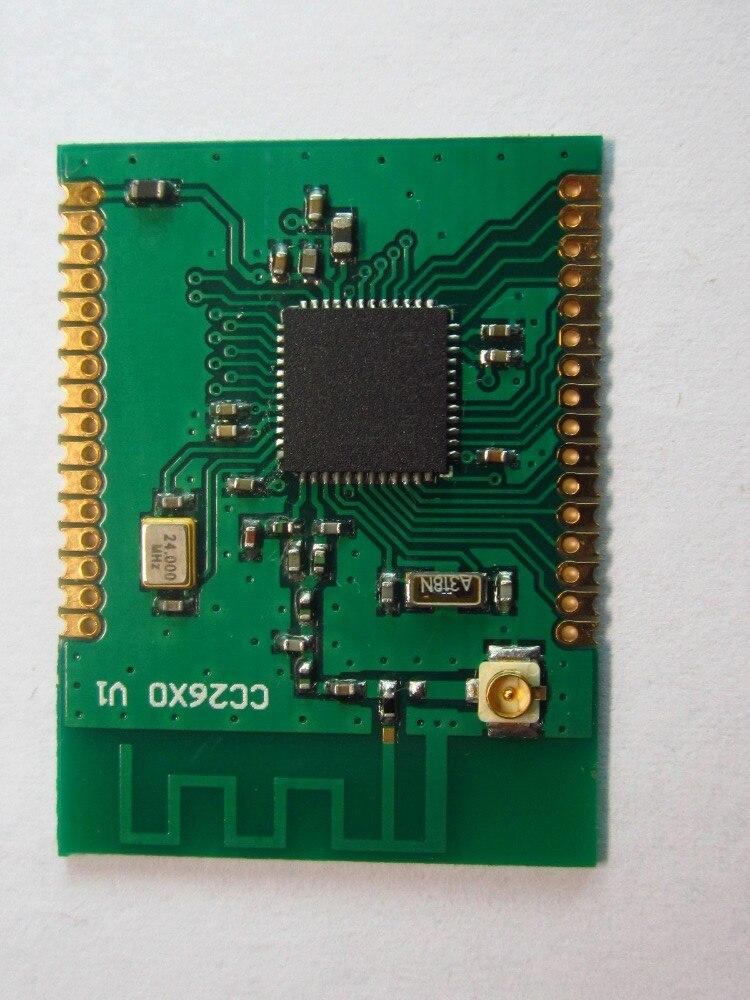 CC2630 Zigbee SZ9AR wireless module rs232 switch to zigbee wireless module 1 6 km transmission cc2630 chip far beyond cc2530