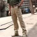 Cidade HunterTactical calças Dos Homens De Carga Calças Ao Ar Livre calças Militares Swat Calças de Algodão Leve Caminhada escalada em rocha