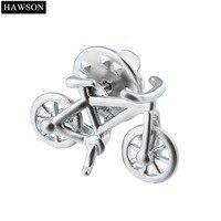 Hawsonバイクデザインブローチ装飾シャツバッジ新しい自転車ブローチピンキッズ友人メンズラペルステッカージュエリー用スーツドレ