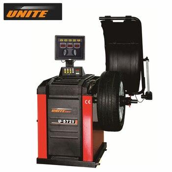 "UNITE Car Wheel Balancer U-5729 Top Line Tracking Sticky Balancing Mode 17"" LED Segment Display"