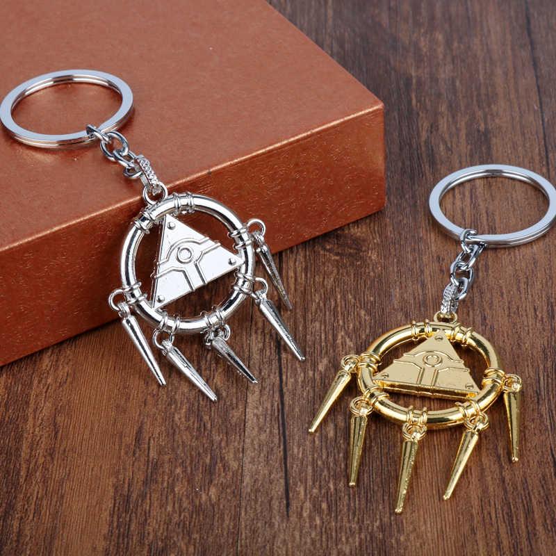 Горячая Аниме игра Yu-Gi-Oh Millenniums головоломка брелок для ключей в форме глаза кулон брелок для ключей на цепочке Женские аксессуары для косплея ювелирный подарок