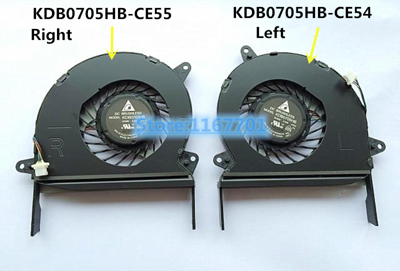 New Original Laptop/Notebook CPU Cooling Fan For ASUS zenbook U500 UX51 UX51V UX51VZ U51VZ KDB0705HB-CE55 KDB0705HB-CE54