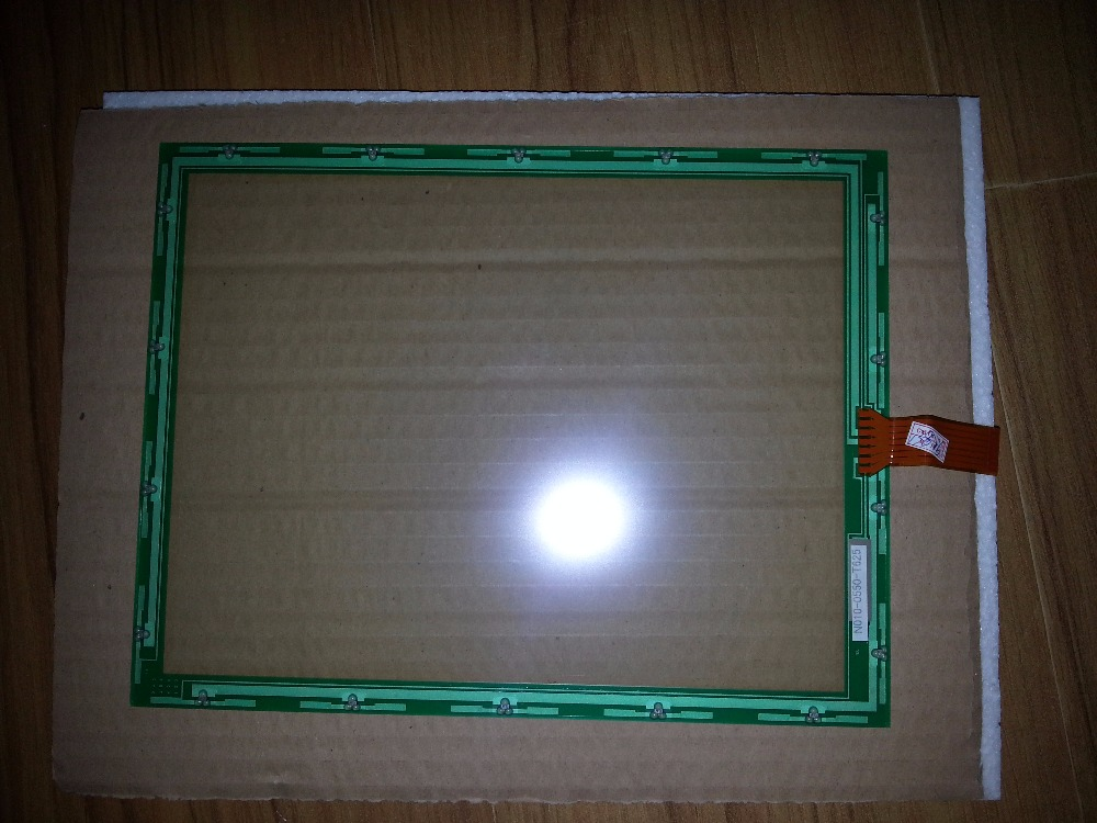 new and original touch screen for N010-0550-T625 original 7 wire touch screen n010 0550 t717 industrial touch screen