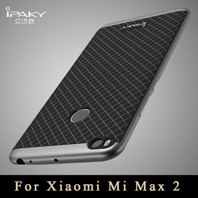 promo code 90364 f368e US $4.99 |For Xiaomi Mi Max 2 phone Case xaomi Mi Max2 IPAKY PC + silicon  Hybrid Back Cover Coque Case for Xiomi Mi Max Pro Accessories-in Fitted ...