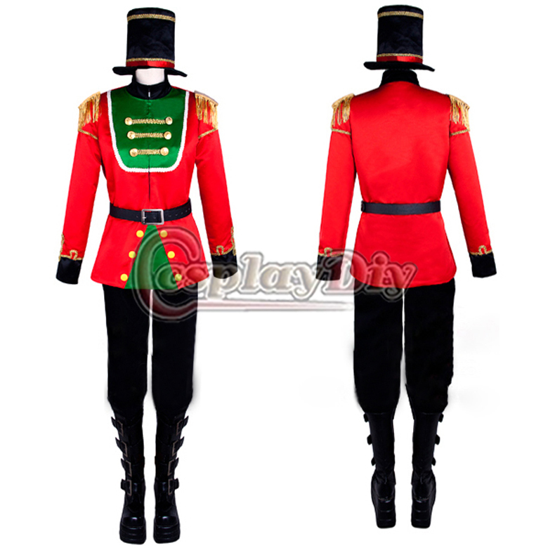 Cosplaydiy free shipping custom made movie game the nutcracker cosplaydiy free shipping custom made movie game the nutcracker puppet stage cosplay costume imperial guard costume uniform in movie tv costumes from solutioingenieria