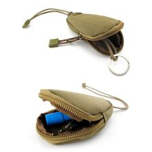 Pocket ключа деньги военная дело кошельки цепи кошелек дизайн чехол автомобиля