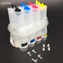 4 цвета 85 мл PP материал нормальная DIY СНПЧ система чернил внешний резервуар для чернил универсальная СНПЧ для Epson Canon HP, Brother струйный принтер