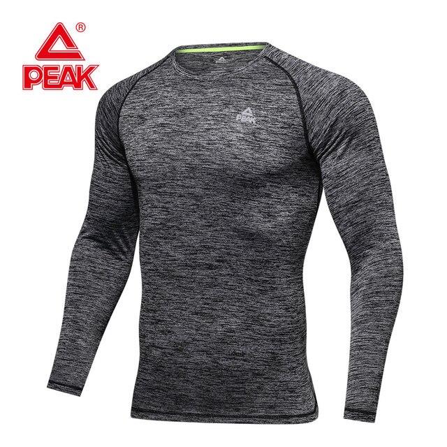 9a79788c9d6 US $47.04 |PEAK SPORT Men Long Sleeves Sport Shirt Men Quick Dry Men's  Running T shirts Gym Fitness Basketball Sports Tee Bodybuilding-in Running  ...