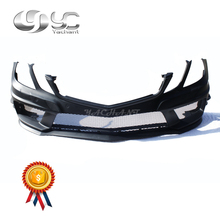 Car-Styling FRP Fiber Glass Car Bumper Front Bar Fit For 2010-2013 MB C207 W207 E Class Coupe PD Style Front Bumper