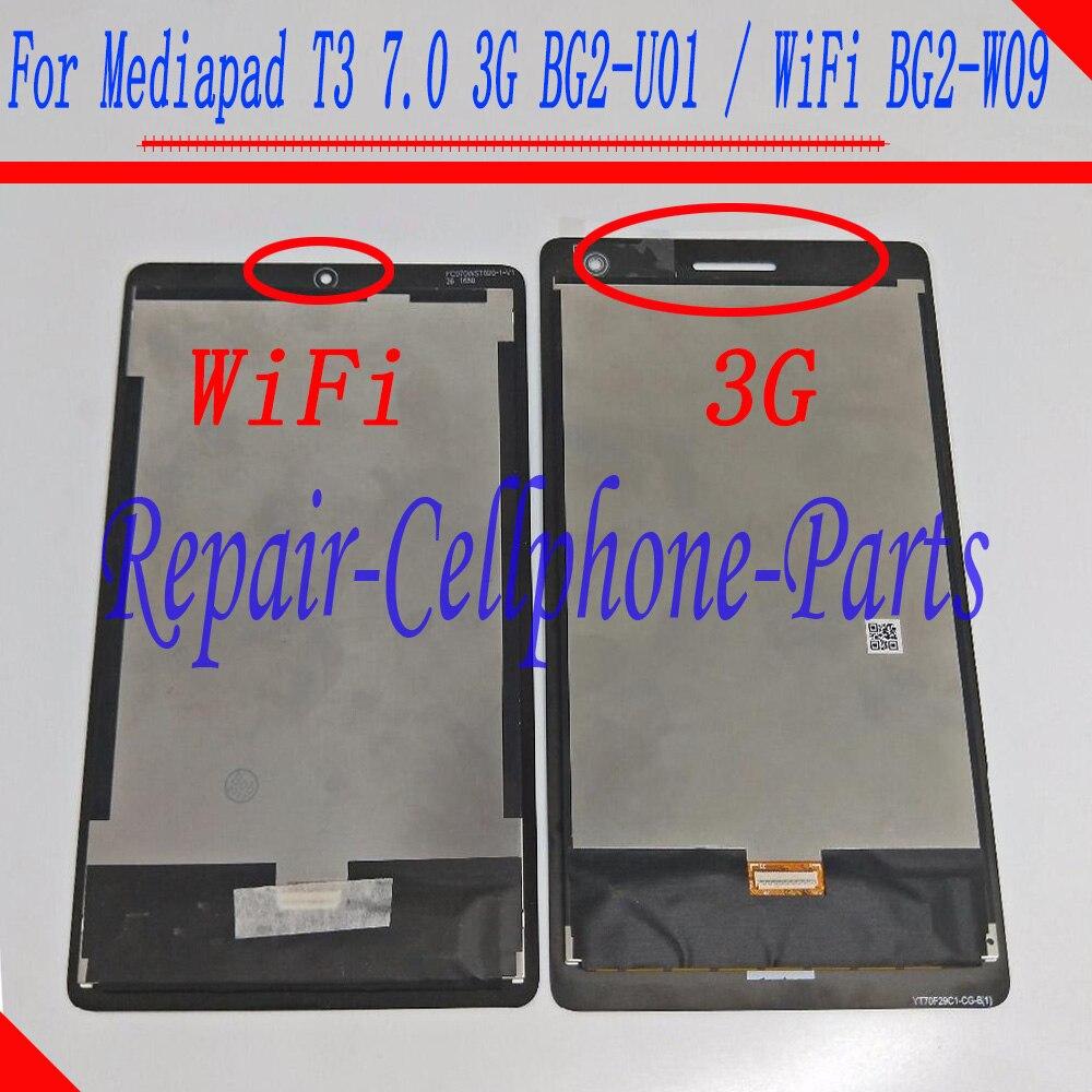 Plein ÉCRAN LCD + Numériseur À Écran Tactile Pour Huawei MediaPad T3 7.0 2017 3g BG2-U01/WiFi BG2-W09