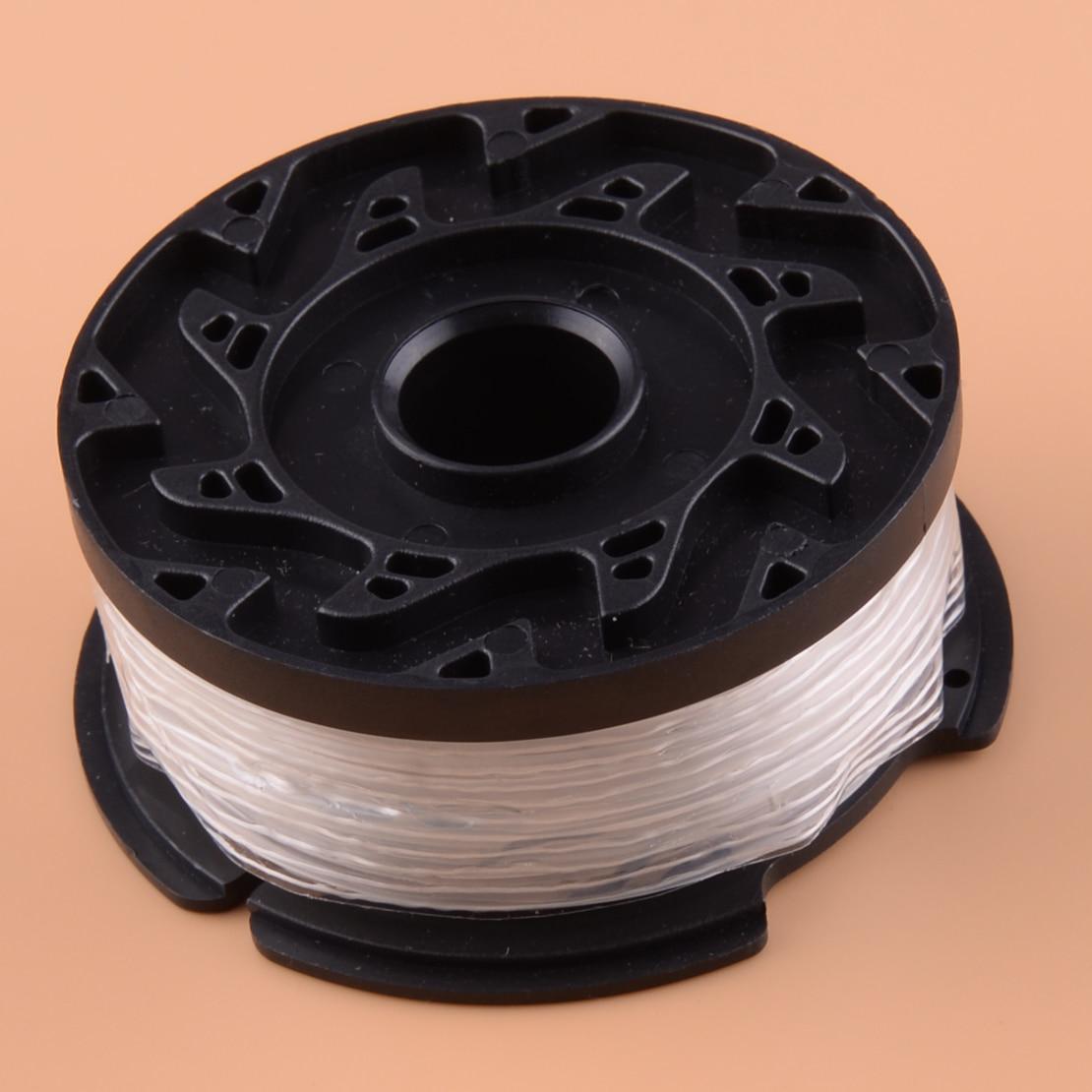 LETAOSK New Trimmer Line Fit For BLACK&DECKER GH400 GH500 GH600 GH612 GH900 NST2018 NST1118 NST2118 LST220 LST300 LST400 LST420