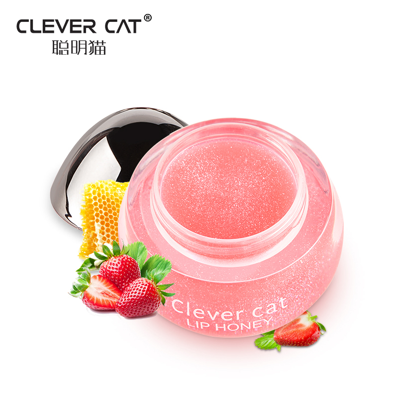 Fruit Moisturizing Plumper Enhancer Lip Balm Beeswax Plant Ingredients Vitamin Lip Gloss Sleeping Crystal Translucent Lip Mask