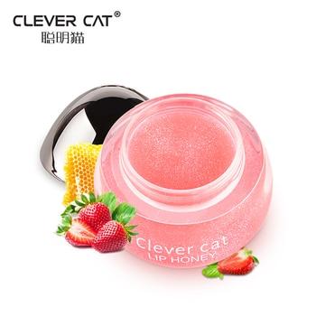 Fruit Moisturizing Plumper Enhancer Lip Balm Beeswax Plant Ingredients Vitamin Lip Gloss Sleeping Crystal Translucent Lip Mask
