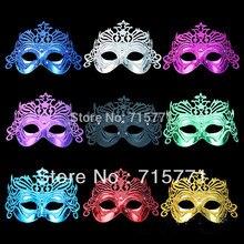 Free shipping masquerade mask half masks Crown Motif powder Halloween Mask women venetian