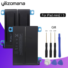 Get more info on the YILIZOMANA Tablet Battery For iPad mini 2 3 battery 6471mAh Replacement Battery for iPad mini 2/3 A1489 A1490 A1491 A1599