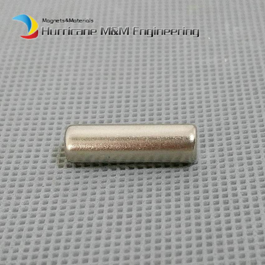 1 pack NdFeB Magnet Rod Dia 6x20 mm 0.236 Rod Axially Magnetized Strong Neodymium Permanent Rare Earth Magnets 1 pack ndfeb magnet ring 10x5x2 0 1 mm diameter 0 39 strong magnets axially magnetized nicuni coated rare earth magnet