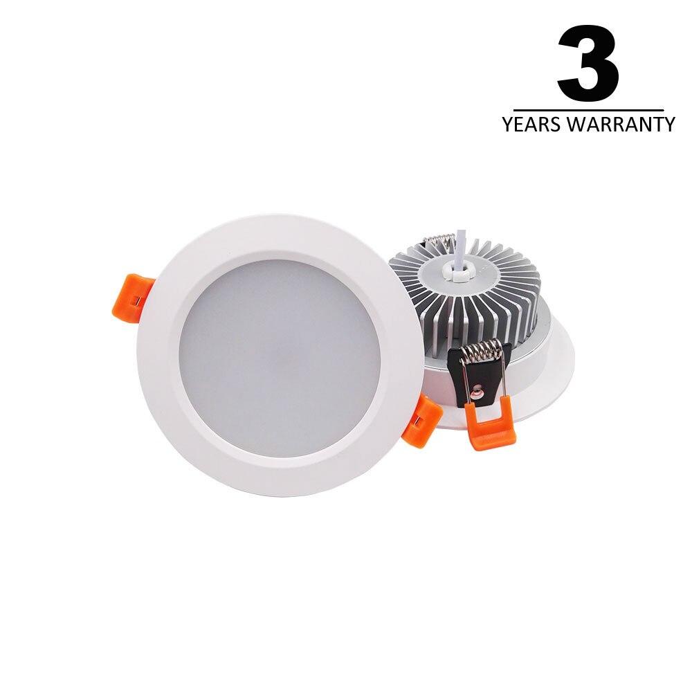 4 шт. затемнения светодиодный утопленные светильники Регулируемый потолочный светильник приспособление 3 Вт 5 Вт 7 Вт 10 Вт 15 Вт для кухни дома...