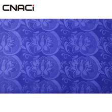 CNACI Royal Blue Guinea Brocade Damask African Fabric Summer Dress 2018 Bazin Riche Jacquard Style 100% Polyester
