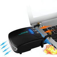 1Pc New Portable USB Powered Suction Type Cooling Fan Slim Laptop Cooling Pads Cooling Fan
