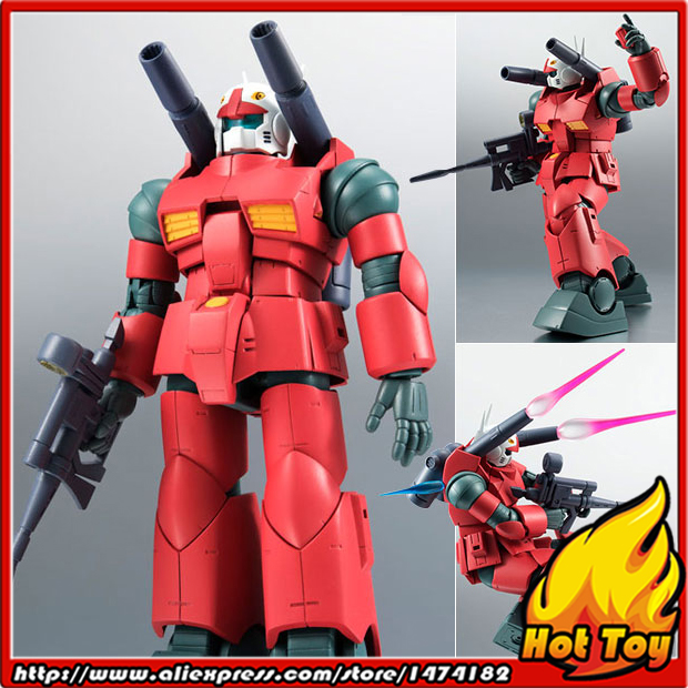 Original BANDAI Tamashii Nations Robot Spirits Action Figure No.203 - RX-77-2 Guncannon ver. A.N.I.M.E.