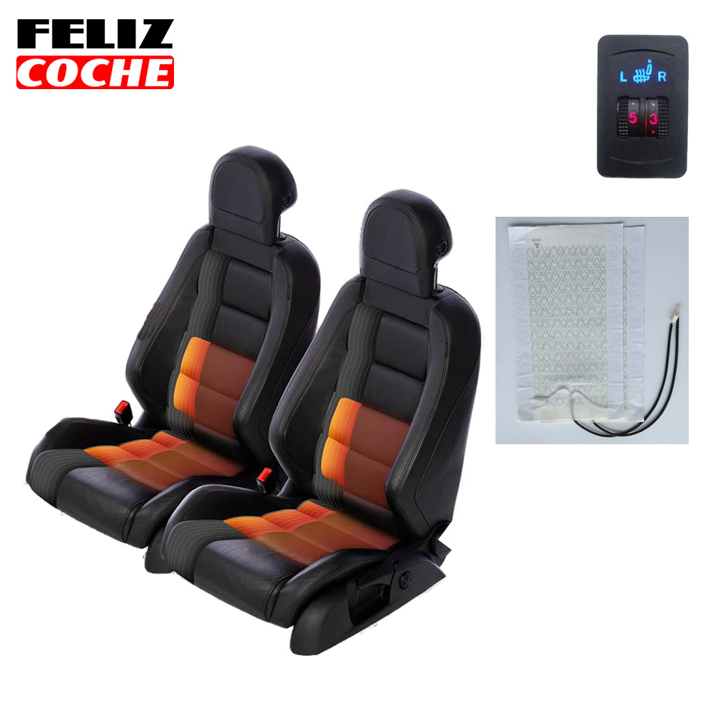 2 seats heating cushion 5 levels switch car seat heater pad seat heaters keep seat warm a5103 in. Black Bedroom Furniture Sets. Home Design Ideas