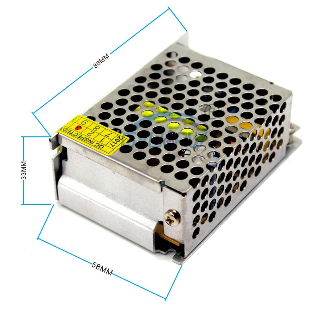 25W 5V 5A Малый Объем Один Выход импульсный источник питания Трансформатор 110V 220V AC-DC импульсивный источник питания для лампы светодиодные ленты CNC CCTV