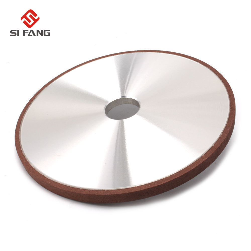 200*12*32*4mm Resin Bond Diamond Grinding Wheel 150 Grits Flat Grinding Wheels Power Tool For Carbide Abrasive Tools цены