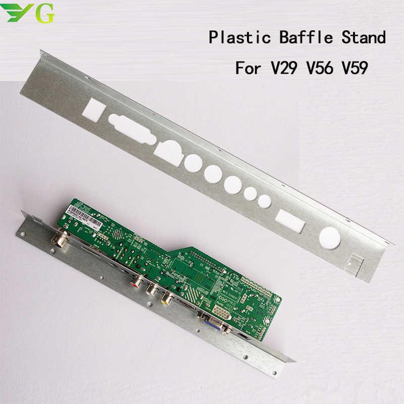 V29 V56 V59 SKR.03 8501 DJ2 Bordo Motorista TV Suporte De Ferro Suporte Fixo instalar 1 pcs Defletor