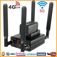 4G LTE HDMI To IP HD Video Encoder H.264 Live Streaming Encoder HDMI To RTMP Transmitter H.264 WiFi Video Encoder