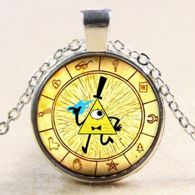 Doctor Who Bill Cipher Wheel Pendant