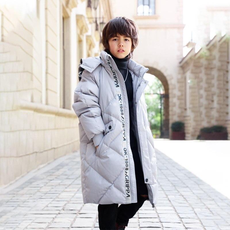 Bilemi handsome long windproof winter breaker coat boys down jacketBilemi handsome long windproof winter breaker coat boys down jacket