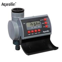 Válvula solenóide digital casa jardim temporizador de água automático sistema controlador irrigação do jardim com display lcd #21002