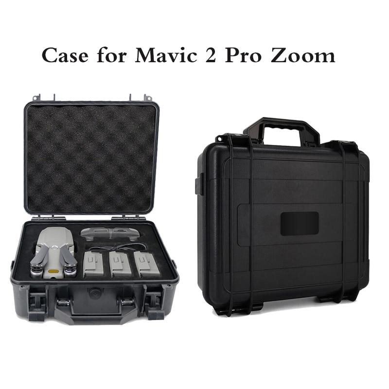 Explosion-proof Box DJI Mavic 2 Pro Zoom Bag Box High Capacity Storage Case for DJI Mavic 2 Pro Mavic 2 Zoom Drone Accessories стоимость