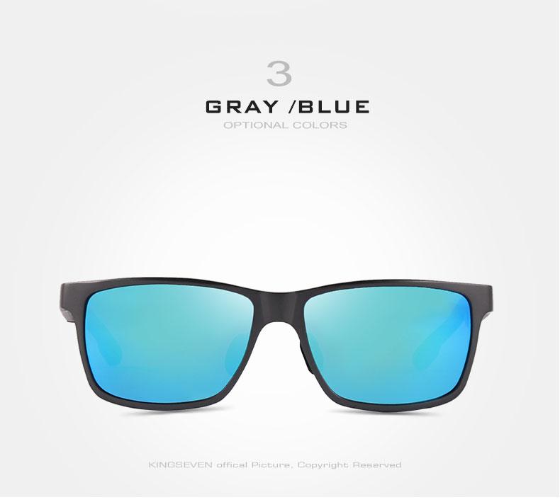 2017 New KINGSEVEN Polarized Sunglasses Men Brand Designer Male Vintage Sun Glasses Eyewear gafas oculos de sol masculino N7180 9