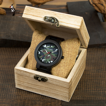 relogio masculino BOBO BIRD Watch Men Wood Luxury Top Brand Quartz Watches Japan Movement Great Gift for Man Drop Shipping Quartz Watches