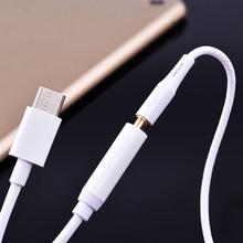 Тип C до 3,5 мм Женский аудио разъем кабель для наушников адаптер разъем для Xiaomi mi 8 mi 8 тип-c конвейер сплиттер телефонные адаптеры