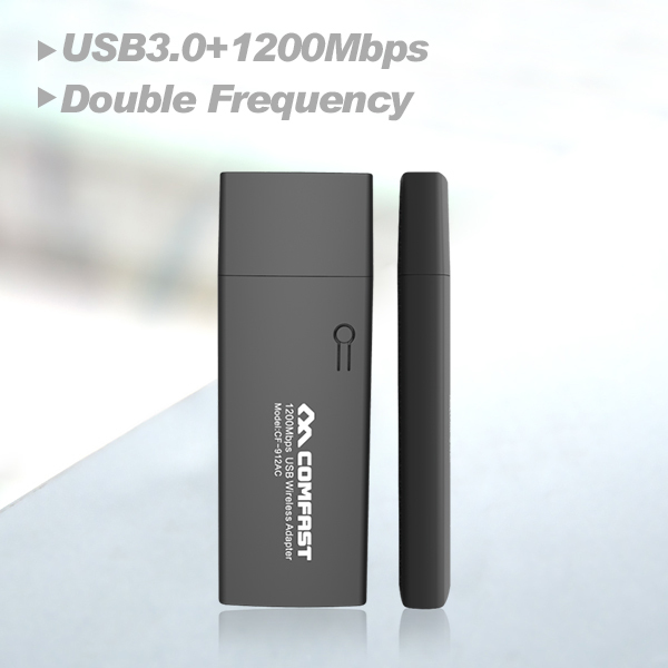 New Arrival Free Shipping COMFAST CF 912AC 1200Mbps 11AC Double Frequency Wireless Network Card USB3 0