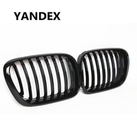 YANDEX 1-slat gloss black vervanging voorbumper grill grille fit voor X5 e5 33.0i 3.0d 4.4i 4.6is 2000-2003 grill mesh