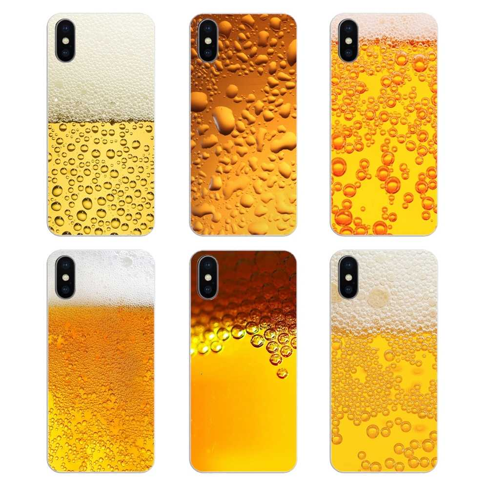 The Beer Bubble Wallpaper Print For Nokia 2 3 5 6 8 9 230 3310 2 1 3 1 5 1 7 Plus Transparent Soft Shell Covers