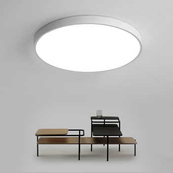 Lustres De Sala 2018 Special Offer Sale Ce Abajur Ultra-thin Led Ceiling Lighting Lamps For The Living Room For Modern High 6cm