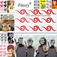 Hatsune GUMI Miku Megurine Luka Cosplay Tattoo Trafalgar Law Aufkleber Gaara Sasuke naruto ermordung squad Fee Schwanz Tatto