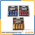 RASTP 4pcs/pack D1 Spec Anti-theft Lockable  Wheel Lug Nuts With A Bolt M12x1.5 or M12x1.25 LS-LN015